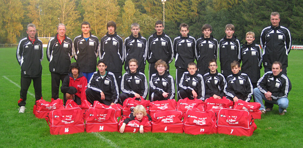 Sponsor of the B-Jugend youth team at TUS Syke