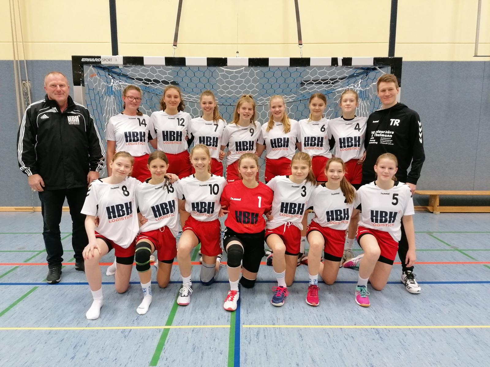 Trikotsponsoring für die Handball Spielgemeinschaft MoIn Wesermarsch