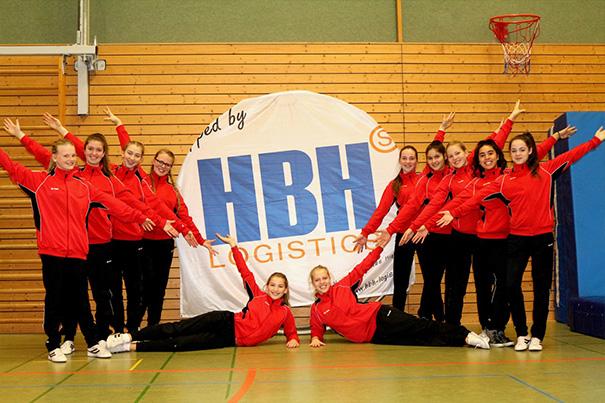 Rhönrad-Turnerinnen des SV Kirchweyhe